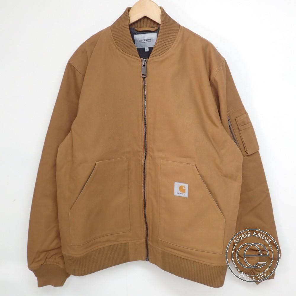 official store amazing selection cheapest Carhartt car heart WIP INDUSTRIAL JACKET industrial jacket / Bonn bar  jacket L Hamilton Brown men