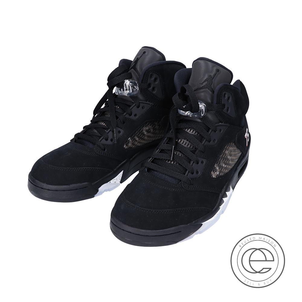 best sneakers bd65b 58c56 NIKE Nike AV9175-001 AIR JORDAN 5 RETRO BCFC Air Jordan 5 nostalgic BCFC  Paris Saint-Germain football club sneakers 27.5 BLACK/CHALLENGE RED-WHITE  men