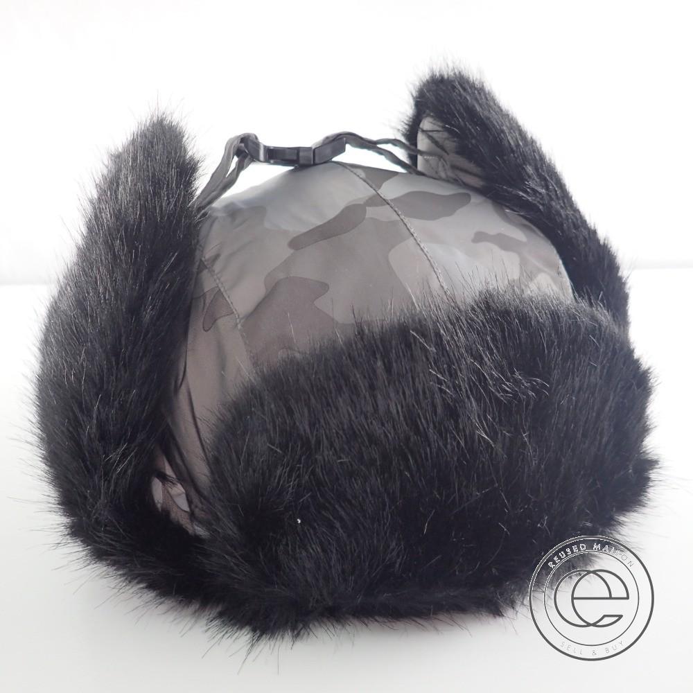 Supremeシュプリーム 【新品同様☆18AW】Reflective Camo Trooper リフレクティブ カモ トゥルーパー 中綿ボンバーハット 帽子 ONE SIZE Snow Camo メンズ 【中古】