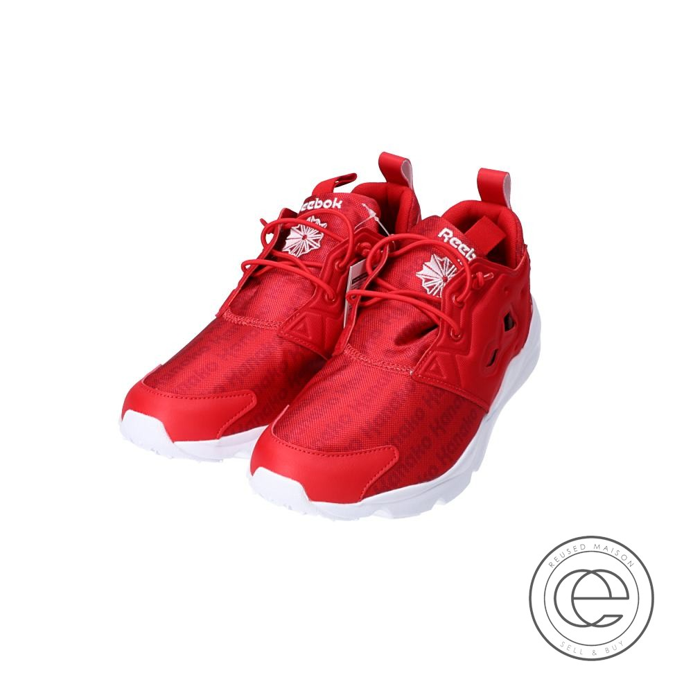 best website amazing selection purchase cheap Reebok Reebok X Momoiro Clover Z X ポシュレ 10th Kanako print CLASSIC special  sneakers 26.5cm red men