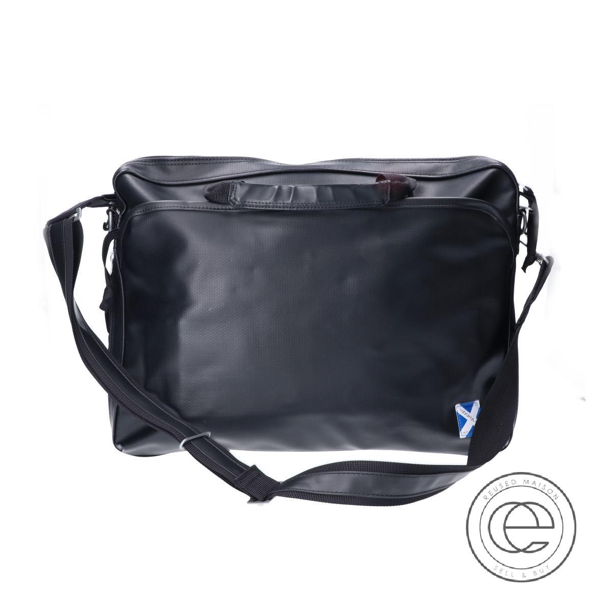 Luggage Label  ラゲッジレーベル 960-08876 LUGGAGE LABEL NEW LINER 2WAY BRIEFCASE ニューライナー 2WAY ブリーフケース ブラック メンズ 【中古】
