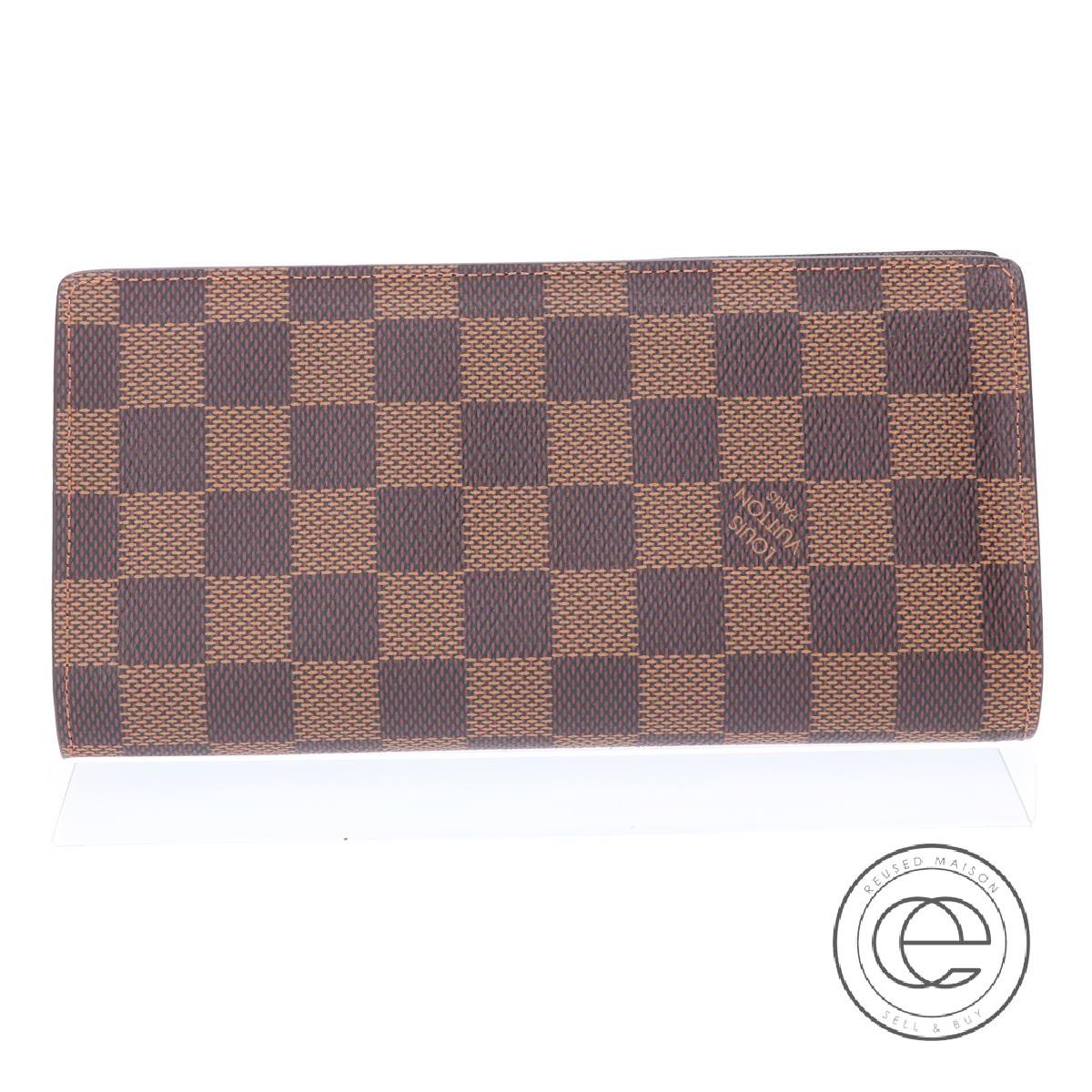LOUIS VUITTON ルイヴィトン N60017 ポルトフォイユ・ブラザ 長財布(小銭入れあり) メンズ 【中古】