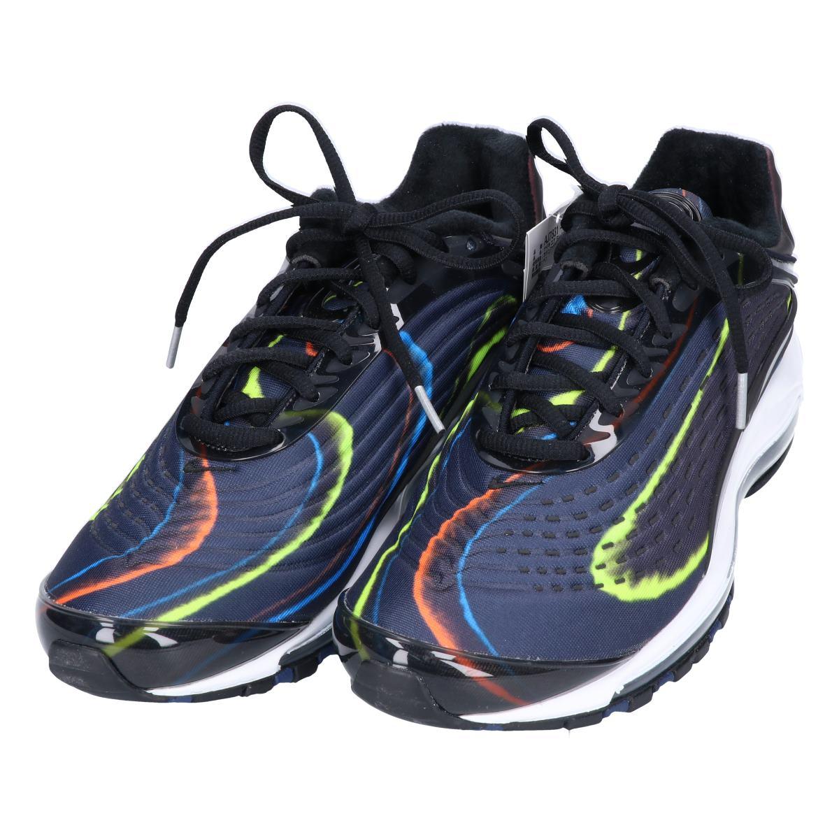 NIKE Nike AJ7831 001 AIR MAX DELUXE Air Max deluxe sneakers 27 BlackBlack Midnight Navy men