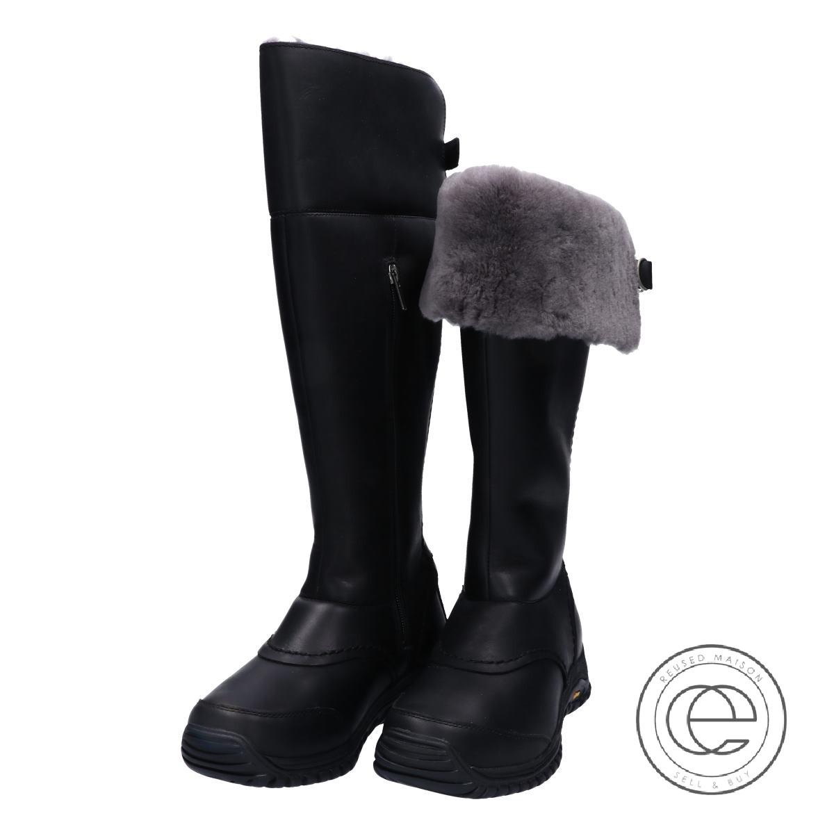 14e16d5ec96 UGG アグ 1012519 MIKO Miko snow boot shoes 23 black Lady's