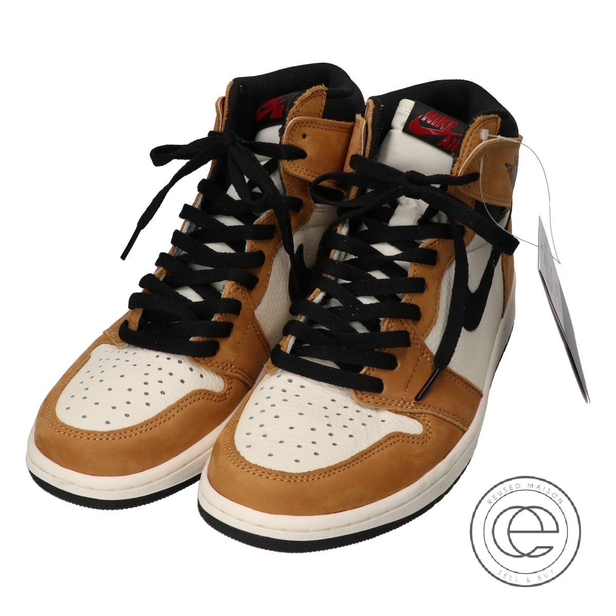d7481f1c132 NIKE / Nike555,088-700 AIR JORDAN 1 RETRO HIGH OG ROOKIE OF THE YEAR Air  Jordan 1 nostalgic high Aussie sneakers shoes