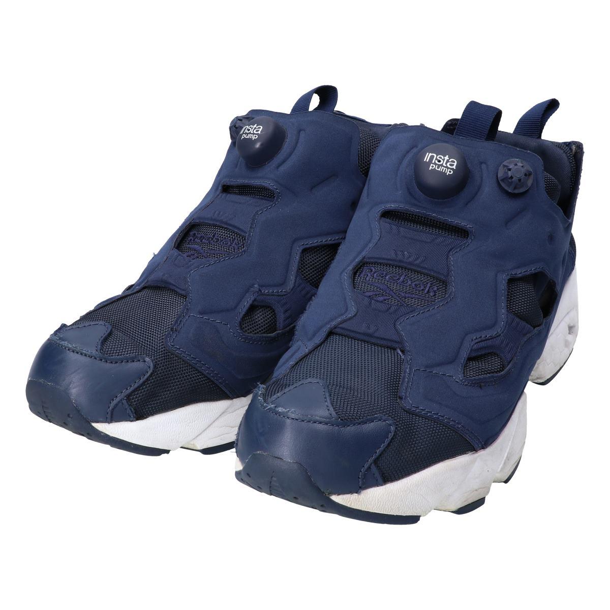 New Reebok Insta Pump Fury Og V65752 Navy Blue Shoes for Men