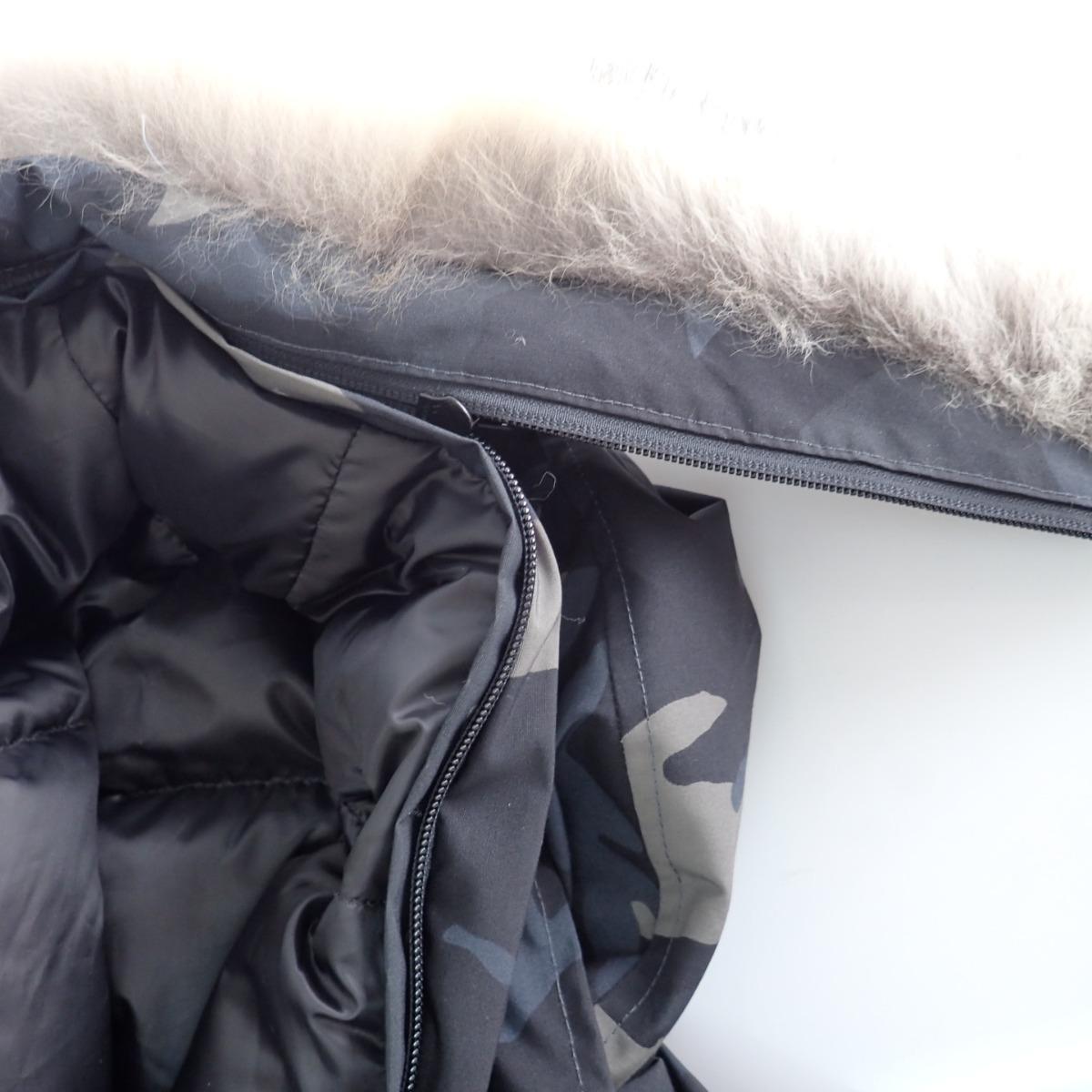 CANADA GOOSEカナダグース 美品 国内正規 株 サザビーリーグ 3426MB BLACK LABELブラックラベル CHATEAU PARKAシャトーパーカー 迷彩柄 ファー付フーディダウンジャケットL G ブラッククラシックカモ メンズ54RcLq3jA