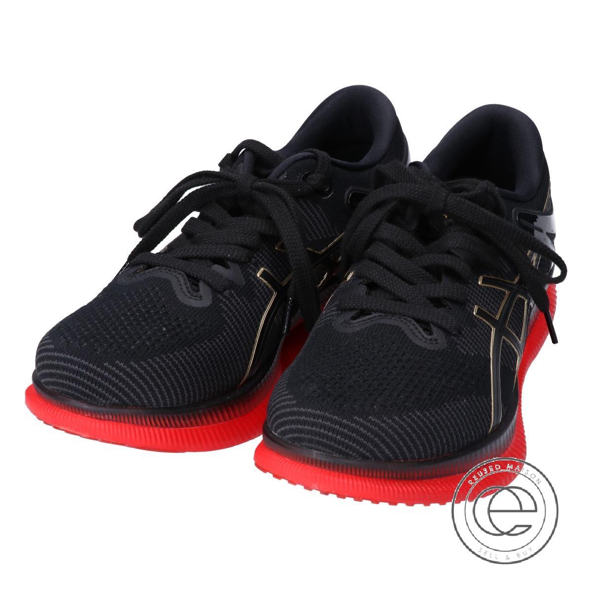 a32f7b94 asics ASICS 1011A142 METARIDE meta ride running shoes 26 black / red men