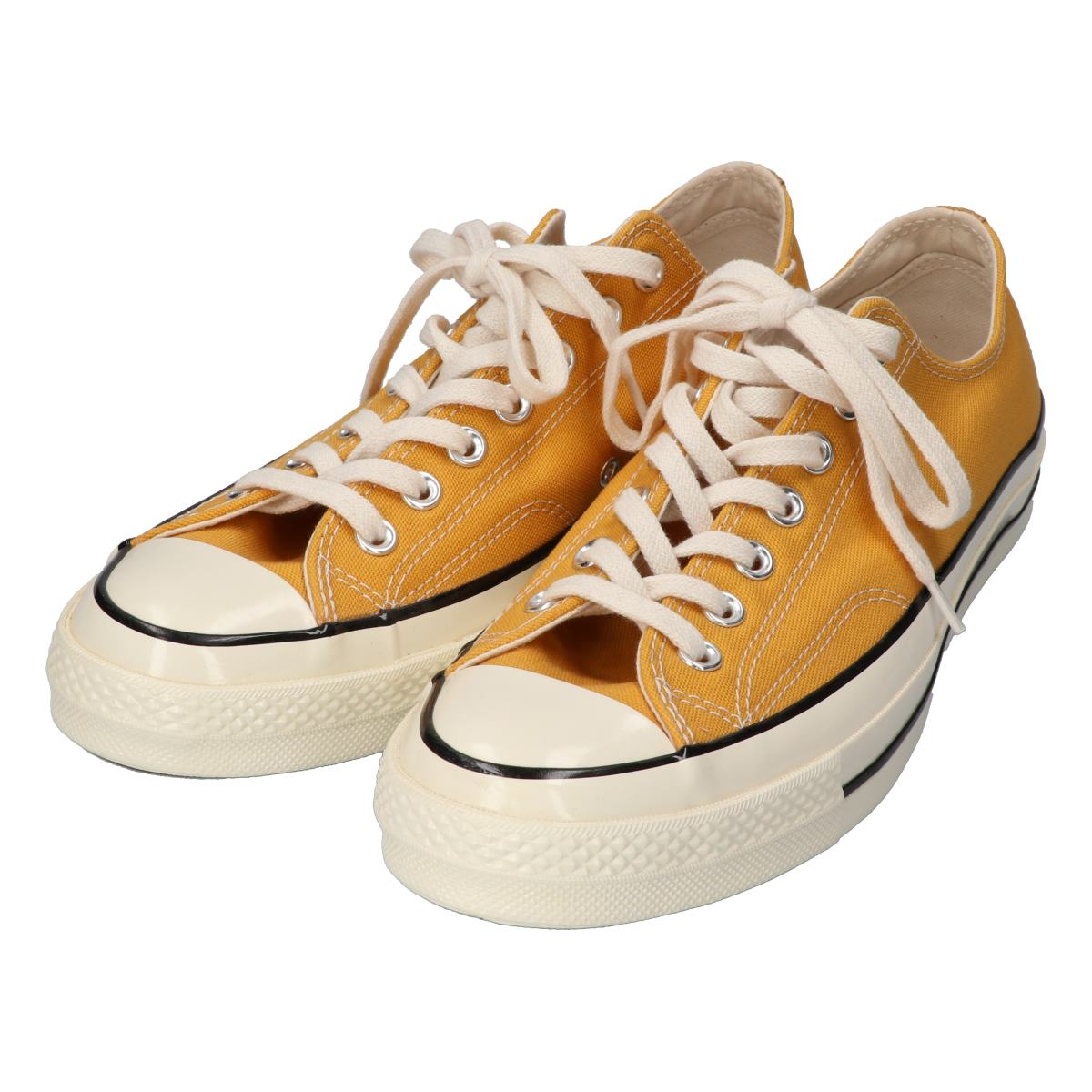 CONVERSE Converse 151229C CHUCK TAYLOR ALL STAR 70 OX zipper Taylor all stars 70 low frequency cut sneakers 27.5 SUN FLOWER YELLOW men