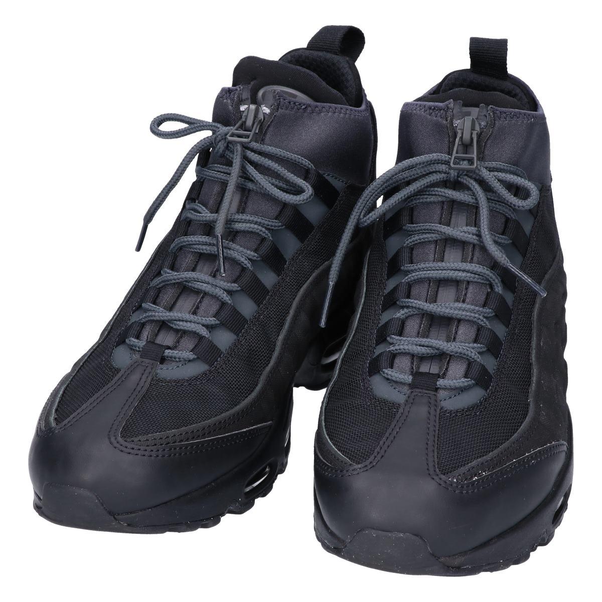 NIKE Nike 806,809 001 AIR MAX 95 Air Max 95 SNEAKERBOOT sneakers boots shoes 26.5 black men