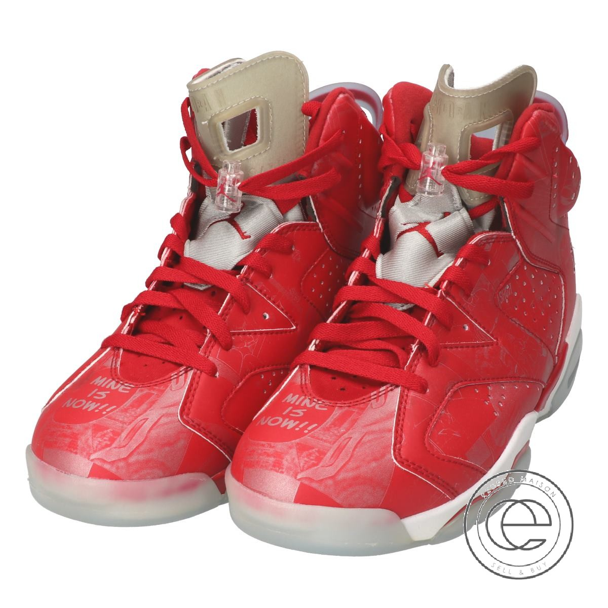 finest selection 5b995 e2c5e NIKE Nike 717,302-600 AIR JORDAN 6 RETRO Air Jordan 6 nostalgic SLAM DUNK  slam dunk sneakers 27 VARSITY RED/WHITE men