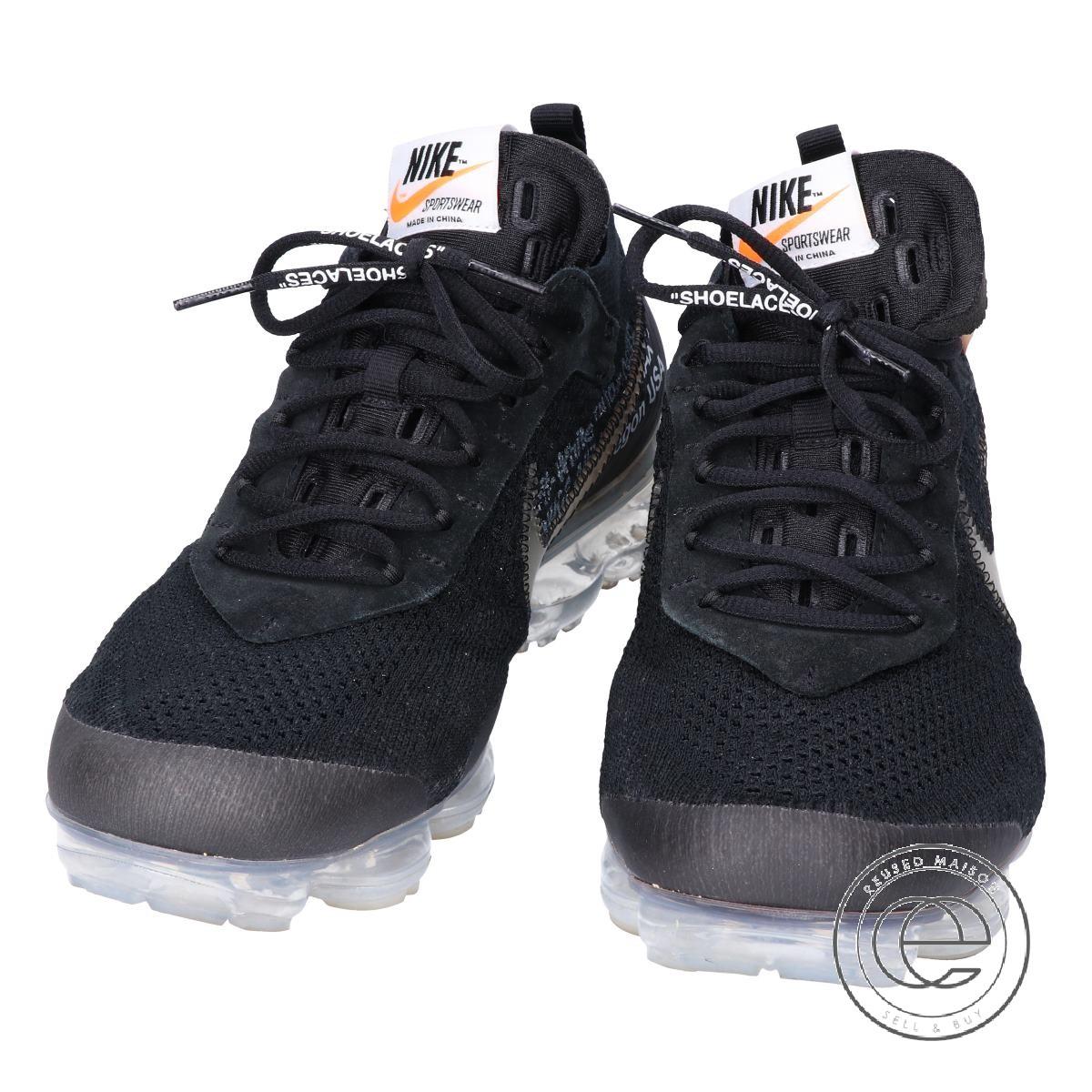 various colors de3c5 ddc45 NIKE Nike X OFF-WHITE off-white collaboration AA3831-002 THE 10 AIR  VAPORMAX FK air vapor max sneakers 28 BLACK/CLEAR-TOTAL ORANGE men