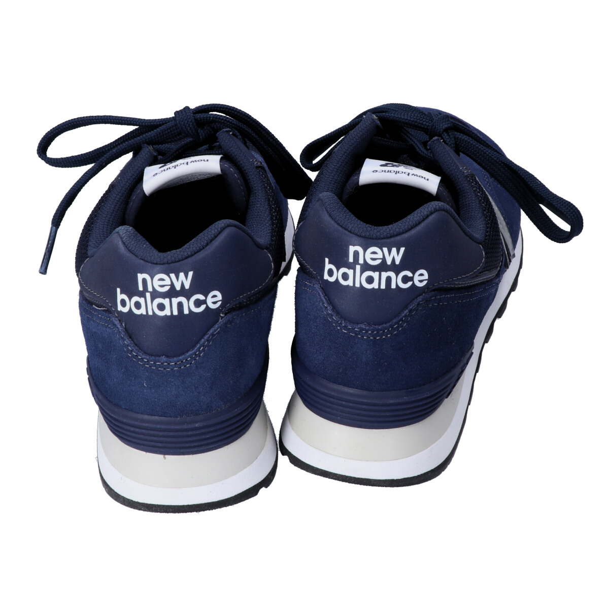 NEW BALANCE New Balance X eYe COMME des GARCONS JUNYA WATANABE MAN ???????????????????? ML574JEN suede mesh sneakers shoes 28cm navy men