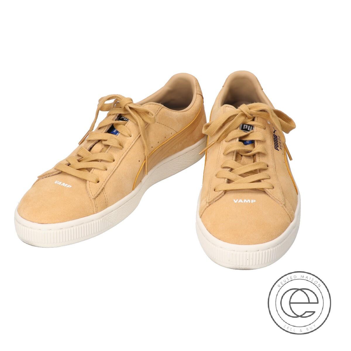 PUMA Puma 367195 02 SUEDE ADER ERROR suede sneakers shoes 27 camel men