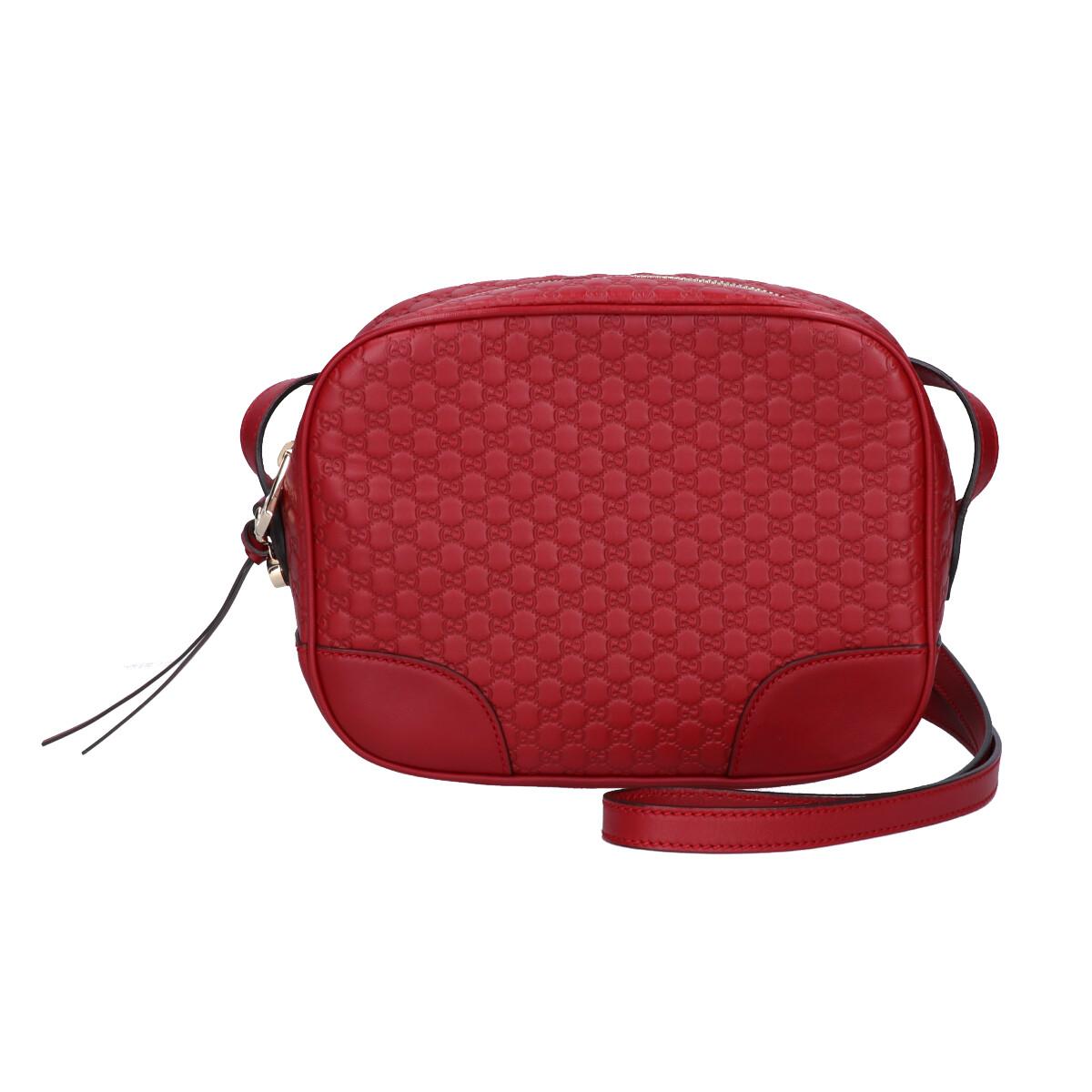 GUCCI Gucci 449413 BREE bully Micro GG Guccissima Crossbody Purse Bag Gucci  sima shoulder bag red Lady\u0027s