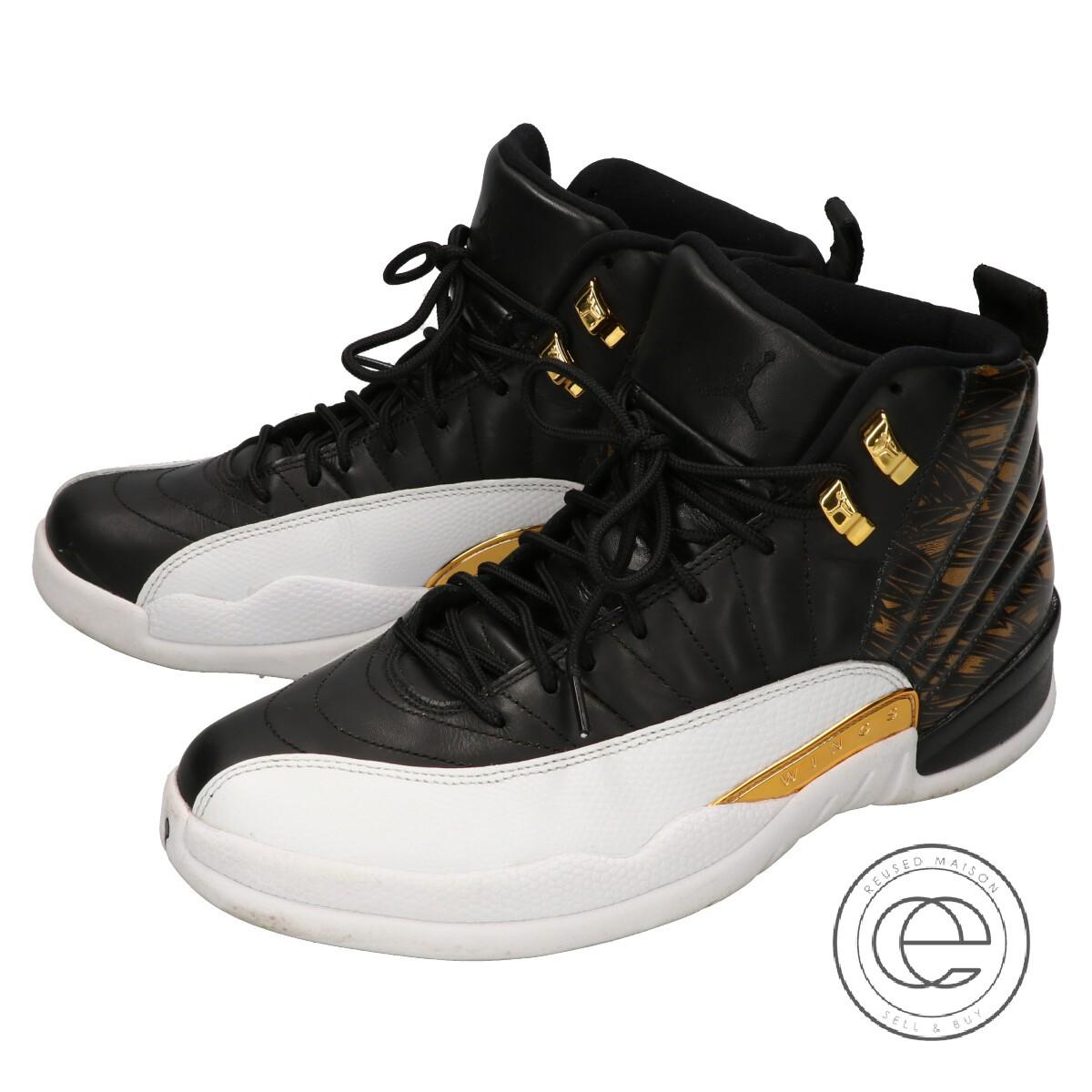 new product 13de5 0d28c NIKE Nike 848,692-033 AIR JORDAN 12 RETRO Air Jordan 12 nostalgic wings  sneakers 26.5 black / white men