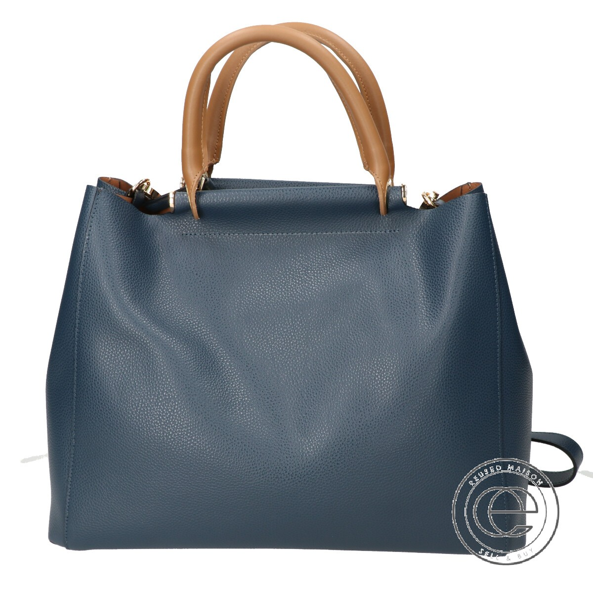 new arrivals wholesale dealer quality design GIANNI NOTARO ジャンニノターロ ART909 partition porch 2WAY shoulder handbag navy  Lady's belonging to