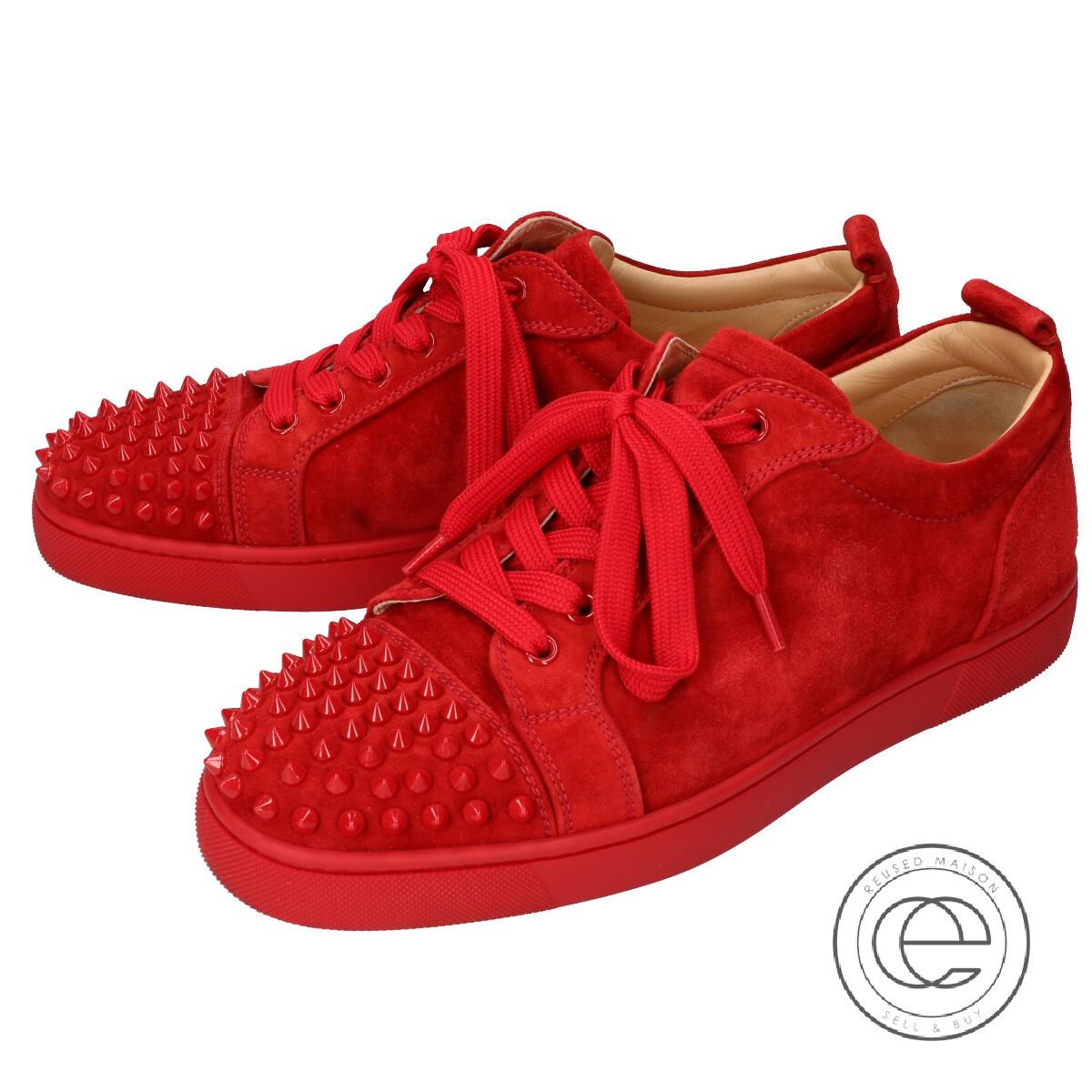 christian louboutin low top sneakers