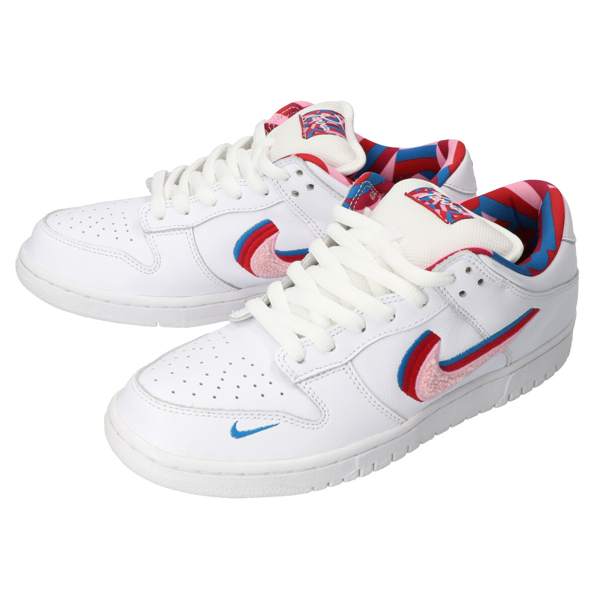 Nike SB x Parra Dunk Low OG QS Scarpa (white pink rise) fare
