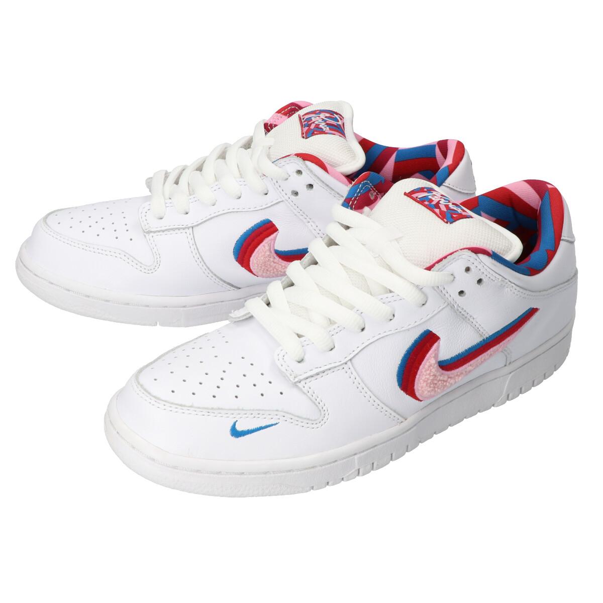 Nike SB x Parra Dunk Low OG QS Scarpa (white pink rise) fare