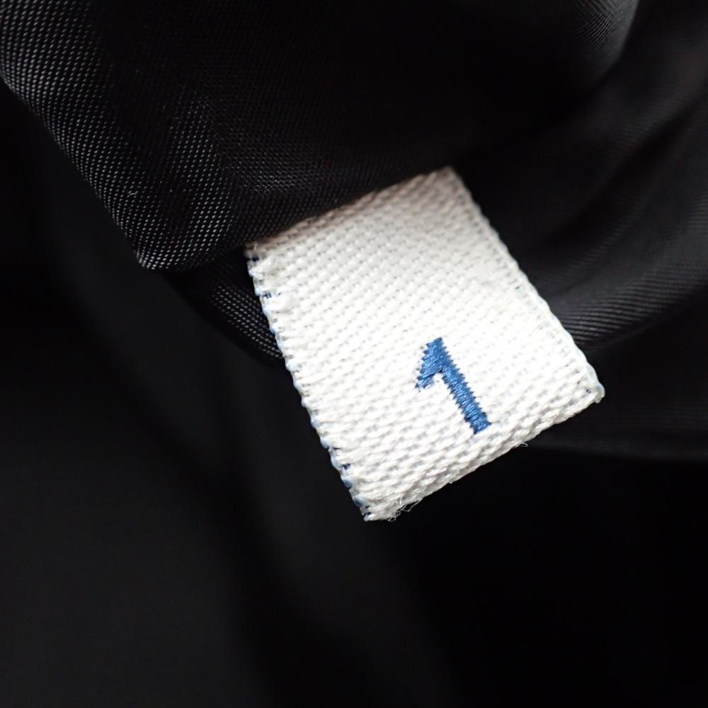 MONCLERモンクレール 国内正規GENEジーン ベルト ファー付 フーディダウンジャケット1 ブラック レディース29IWDHE