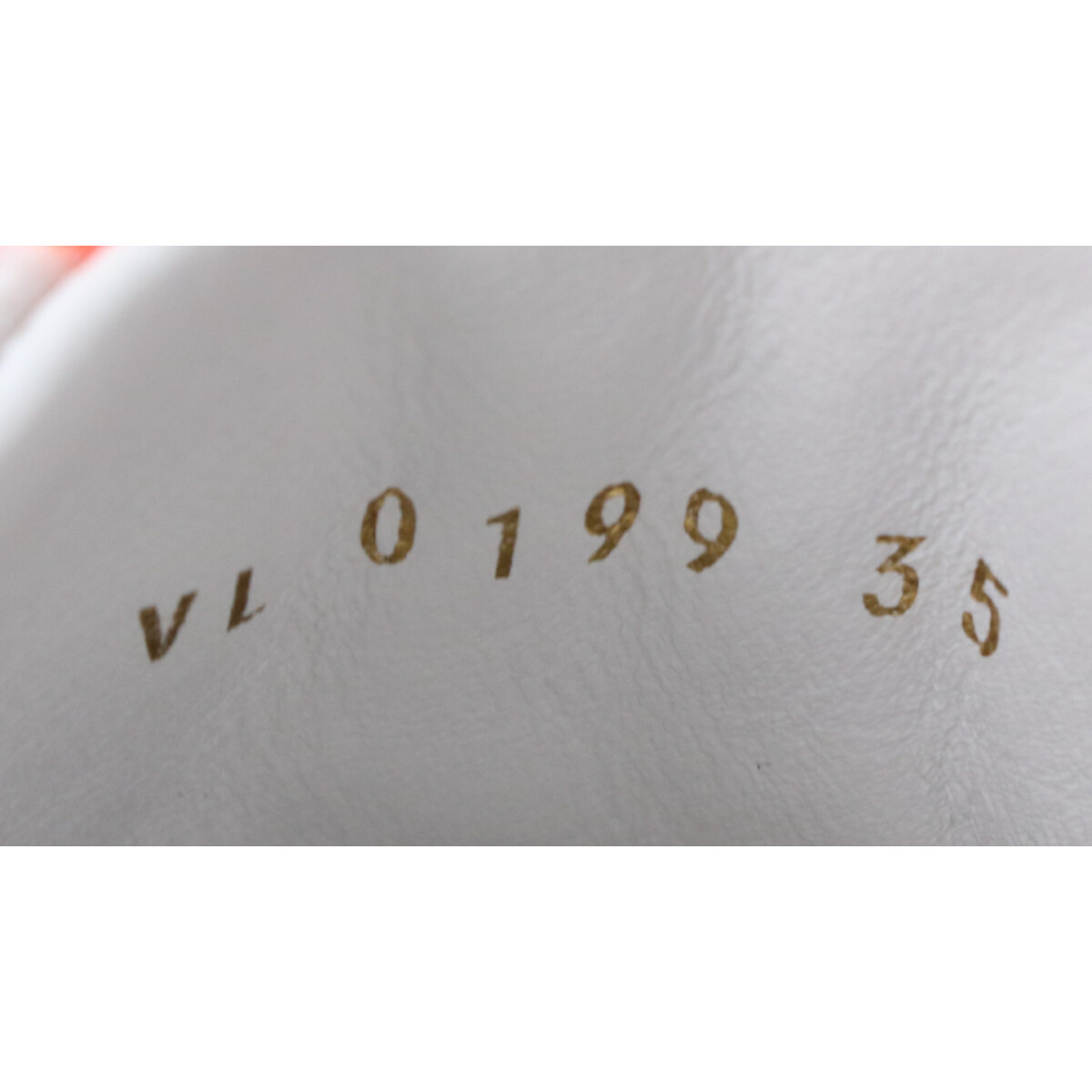 LOUIS VUITTON ルイ・ヴィトン 19年製 1A65Z5 ステラー・ライン スニーカー 35 オランジュ レディースJ1cKlTF