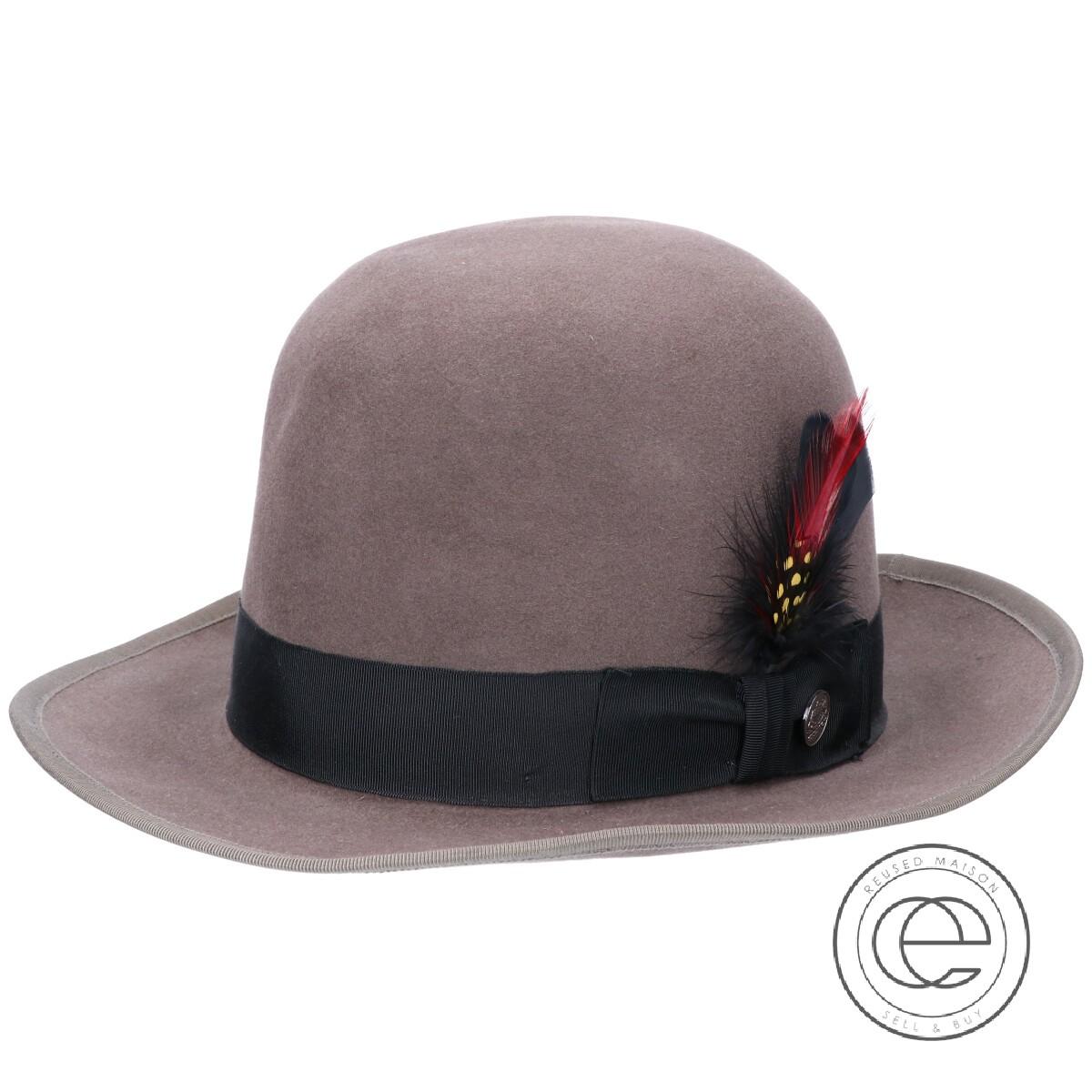 STETSON ステットソン Premier Whippet プレミアウィペット 150周年記念 ラビットファーフェルトハット 帽子 59 CARIBOU メンズ 【中古】