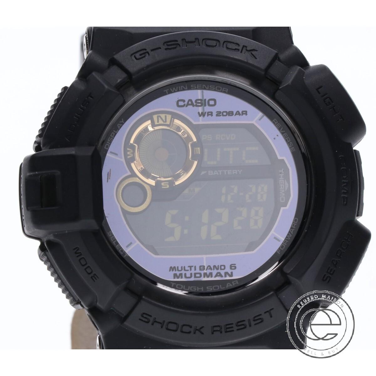 当店の記念日 G-SHOCK ジーショック GW-9300GB-1JF MUDMAN マッドマン マルチバンド6 タフソーラー電波 腕時計 ブラック メンズ, 稲毛区 d7c57fa1
