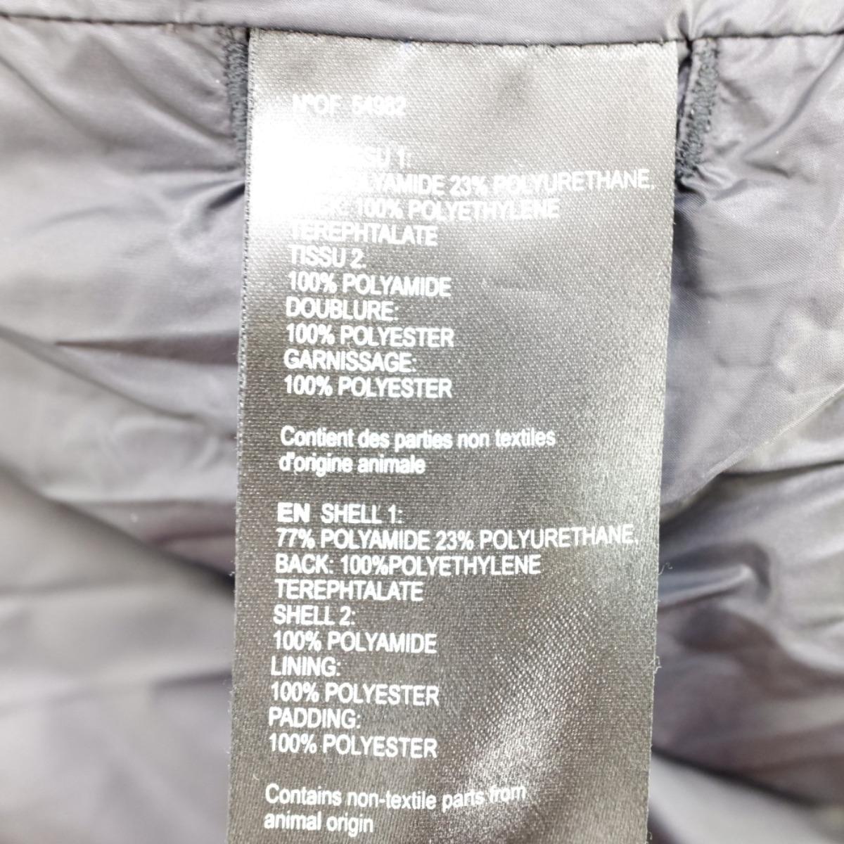 FUSALPフザルプ 19年製 LUCHO IIアームロゴワッペン付 ダウンジャケット50 ブラック メンズxshrCtQdB
