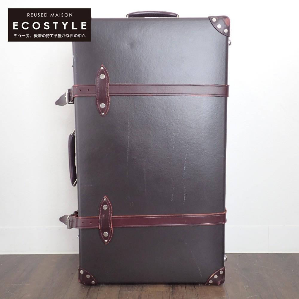 GLOBEーTROTTER グローブトロッター GTCNTCB30ED Centenaryセンテナリー エクストラディープ 人気上昇中 スーツケース 中古 出色 コロニアルブラウン×バーガンディ 2輪キャリー 30インチ