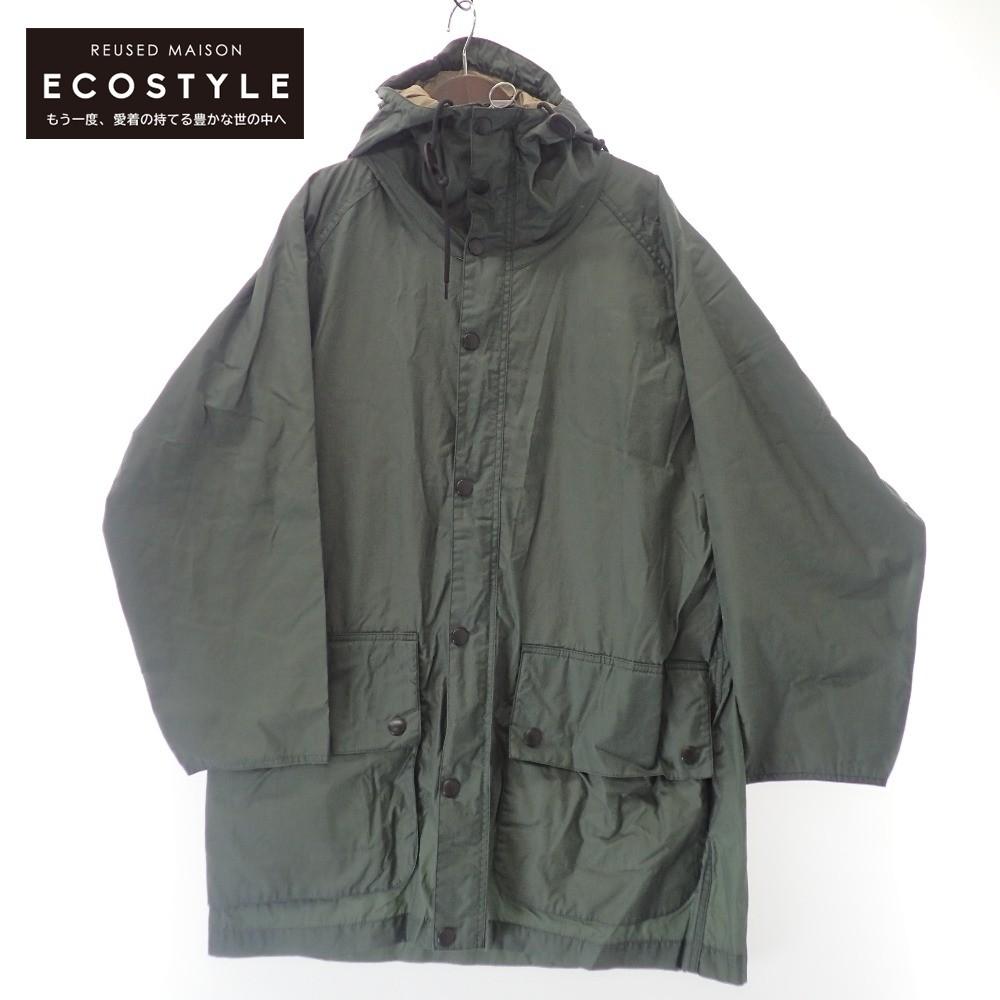 Barbour バブアー 国内正規 20AW MWX1673 Hiking Coat オーバーサイズ 中古 コート 早割クーポン カーキ ハイキング ワックスコーディング 38 メンズ 激安通販販売