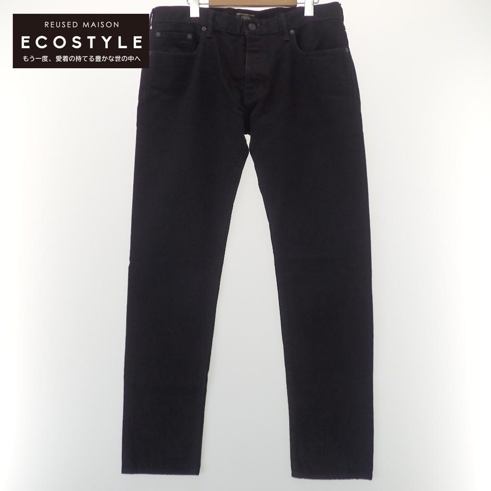ADDICT CLOTHES アディクトクローズ xMINED ボタンフライ デニムパンツ 中古 メンズ 2020秋冬新作 ブラック 大幅にプライスダウン 34 ボトムス