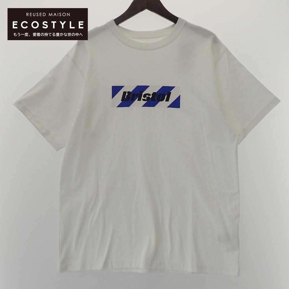 開催中 F.C.R.B. エフシーアールビー 20SS FCRB-202074 BOX LOGO TEE ホワイト メンズ 中古 トップス L 返品送料無料 Tシャツ