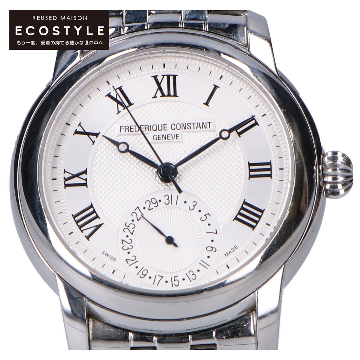 FREDERIQUE CONSTANT 売り出し フレデリックコンスタント FC 710X4H4 クラシック 流行のアイテム マニュファクチュール シルバー 中古 メンズ 腕時計