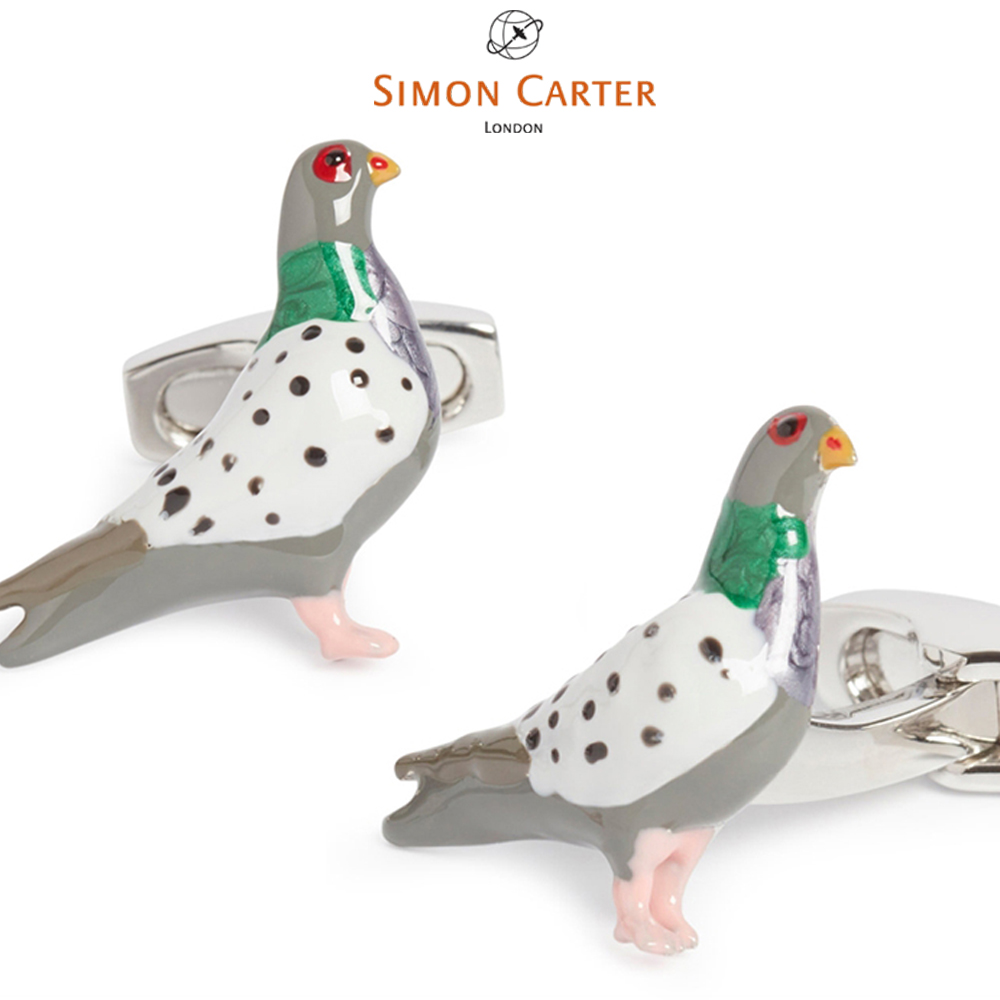 カフス ブランド サイモンカーター Simon Carter/ 鳩 london Pigeon/ SIMON CARTER ( サイモン・カーター ) / ギフト プレゼント【アクセサリー】送料無料