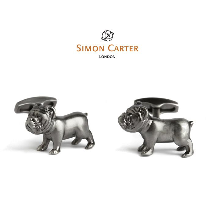 サイモンカーター カフス / カフスボタン (カフリンクス) / デザイン Pursuits / Bulldog SIMON CARTER ( サイモン・カーター ) 送料無料 【fkbr-m】【アクセサリー】