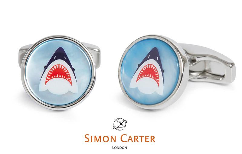 【*】サイモンカーター カフス shark シャーク サメ Simon Carter 【アクセサリー】