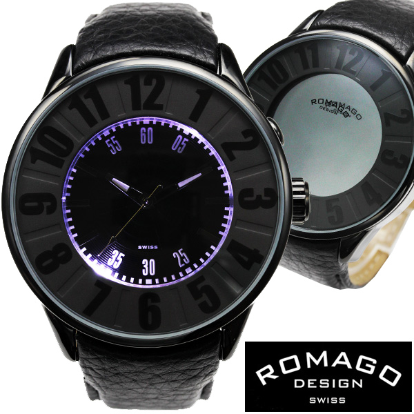 腕時計 メンズ レディース ブランド 1年保証 ★ 西内まりあ 着用 ★正規 ROMAGO ロマゴ NUMERATION ミラー文字盤