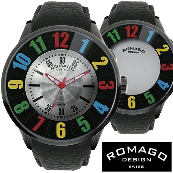 腕時計 メンズ レディース ブランド 1年保証 ★西内まりあ着用★正規 ROMAGO(ロマゴ) NUMERATION ミラー文字盤 ビッグフェイス腕時計 BOX 保証書付き
