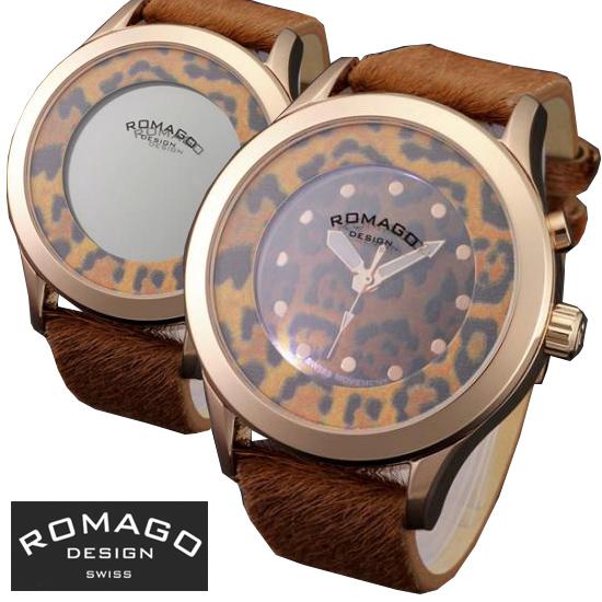腕時計 メンズ レディース ブランド 1年保証 正規 ROMAGO ロマゴ VIRANCY ミラー文字盤 ビッグフェイス 腕時計 BOX 保証書付
