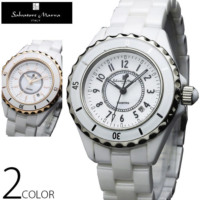 [腕時計 クオーツ メンズ] 【送料無料】 Salvatore Marra SM15120-WHR