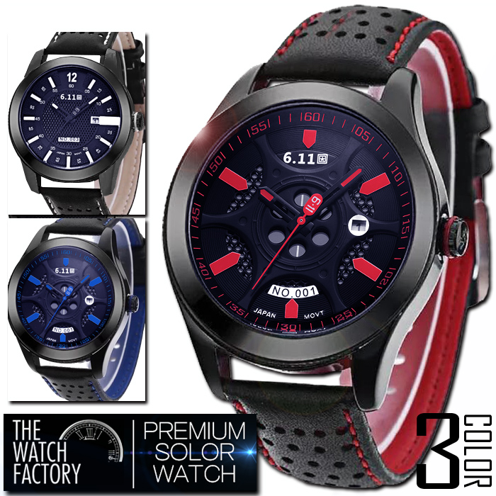 All three colors of AOR-A P20 with men's full stainless steel  specifications premium solar watch one year guarantee, BOX