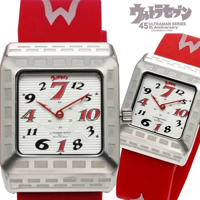 自動巻き腕時計 メンズ ブランド 送料無料 1年保証 正規 円谷 プロ 公式 ウルトラセブン ジャンピングアワー 自動巻き 腕時計 BOX 保証書付き AOR-A