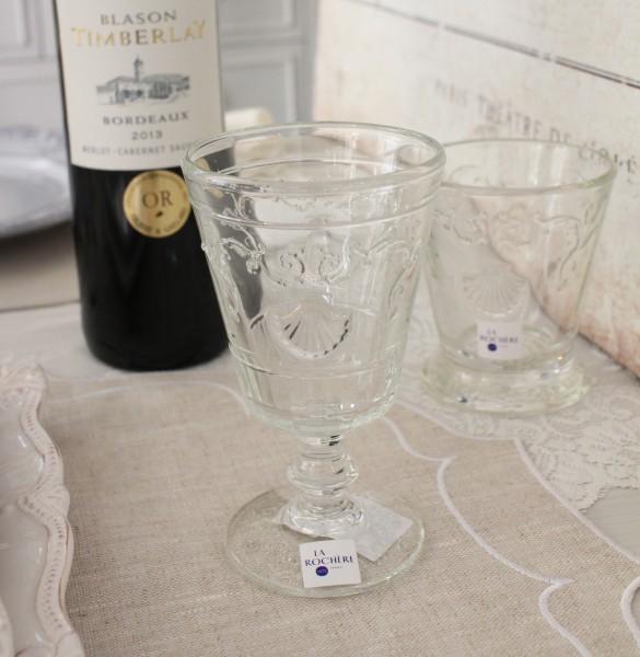 ワイングラス ガラス製 送料無料新品 丈夫 割れにくい おしゃれ ガラス ヴェルサイユ 200cc La お洒落 Rochere ガラス食器 ウォーターグラス 人気 輸入品 ラロシェール 買取 フランス製