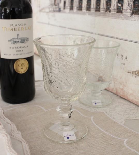 ワイングラス 超激安特価 ガラス製 丈夫 割れにくい おしゃれ アンボワーズ260cc フランス製 シャビーシック ウォーターグラス 輸入 アンポワーズ モデル着用 注目アイテム ラロシェール お洒落 ガラス食器