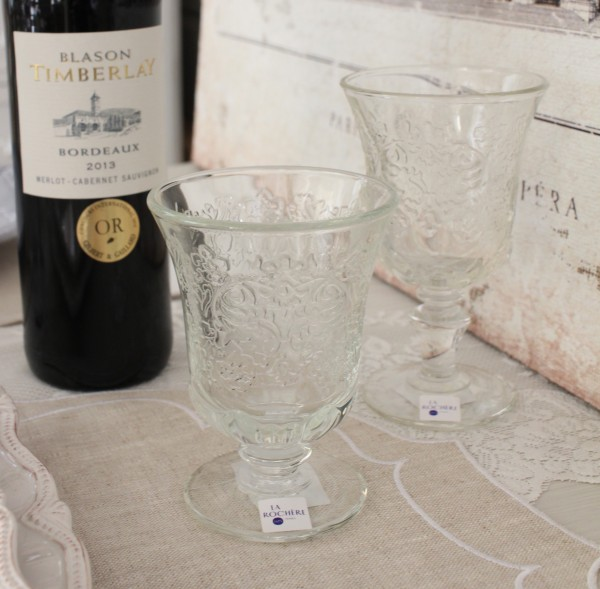 ガラスコップ ゴブレット アンボワーズ 290cc フランス製 開店記念セール La Rochere ウォーターグラス ガラス食器 アンポワーズ シャビーシック お洒落 タンブラー ラロシェール 代引き不可