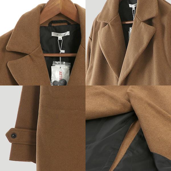 チェスターコート ビッグシルエット オーバーサイズ メルトンウール コート アウター メンズ ブラック チャコール グレー ネイビー キャメルfgYvbyI76