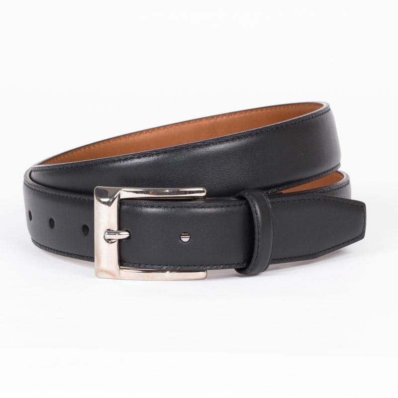 ARALDI1930   アラルディ1930 William ウィリアム ハンドメイド イタリア製 イタリアベルト ベルト メンズ ビジネス カジュアル インポート 柔らかい 長持ち 正規直輸入 パンツになじむ 送料無料 本革 本皮 ブラック カーフレザー メンズ ベルト