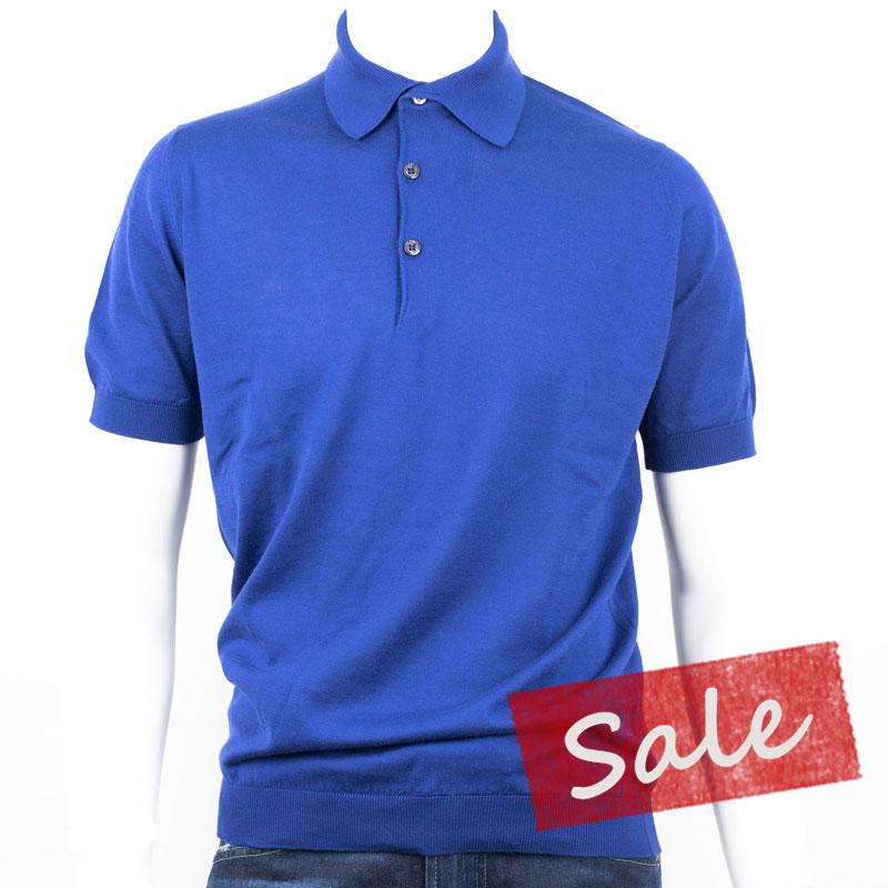 e1fd2c32389b JOHN SMEDLEY   100% of John Smedley 30 gauge cotton short-sleeved polo shirt  ...