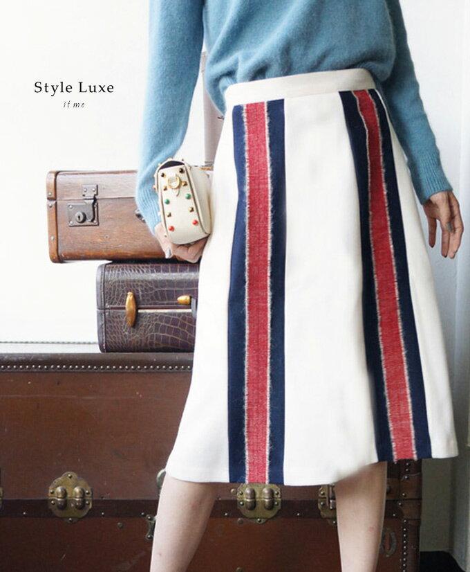 「styleluxe」立体ラインの綺麗なお出かけスカート【再入荷♪11月8日20時より】【F161125】【S191108】